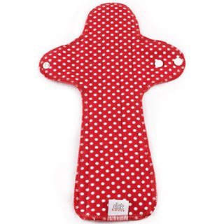 EH Moon Pads Maxi Slipeinlage red dots