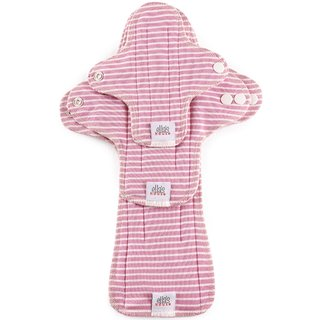 EH Moon Pads Trial-Set pink stripes 3er-Set