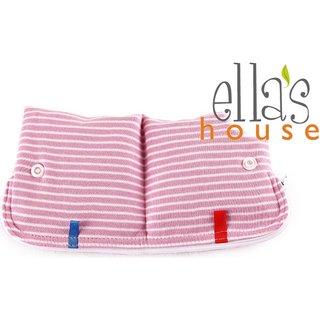 EH Moon Pouch Bindentäschen pink stripes