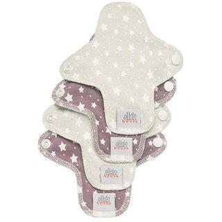 EH Moon Pads Mini Slipeinlage stars 4er-Set
