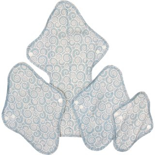 MaM Ecofit Menstruations-Pads Mini 4er-Set Swirl