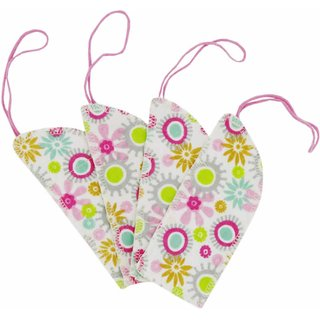ImseVimse Waschbare Tampons BIO-BW 8er-Set Flowers